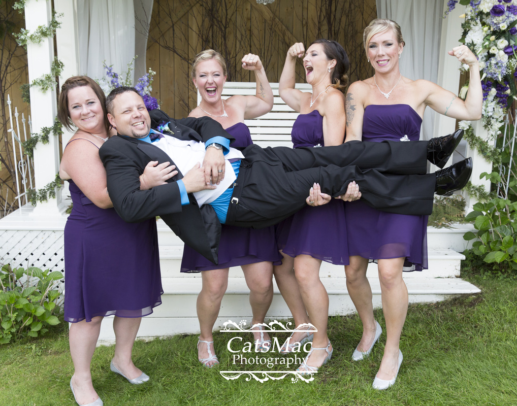 fun with the groom
