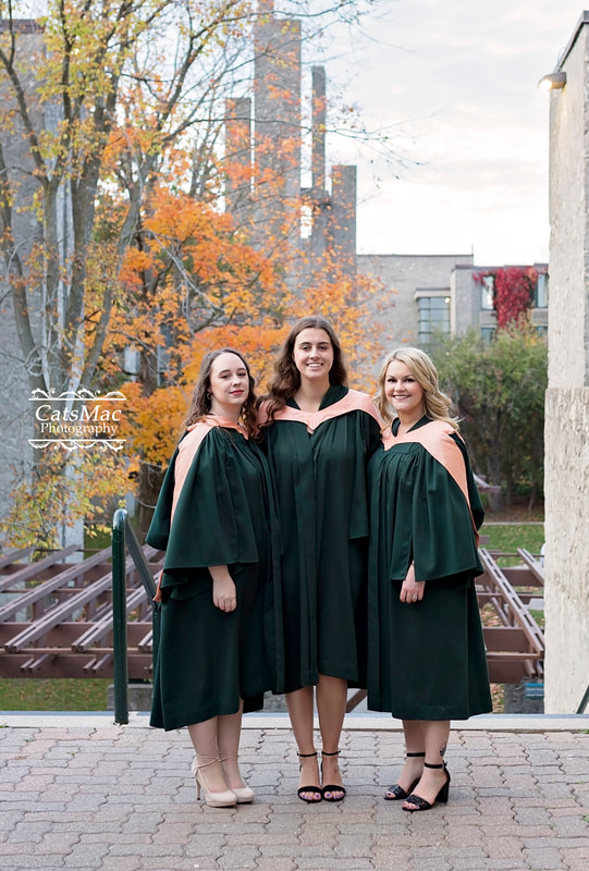 Trent University Peterborough Ontario Graduation photography