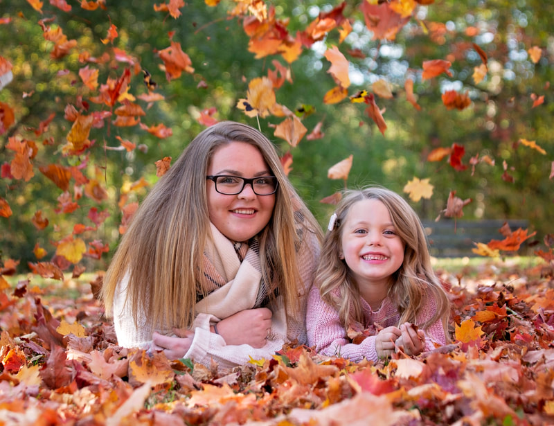 Mommy & Me fall photos