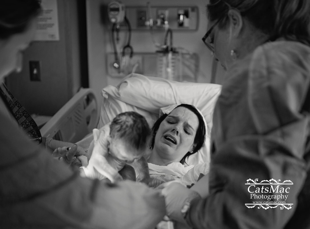 Giving Birth Photography