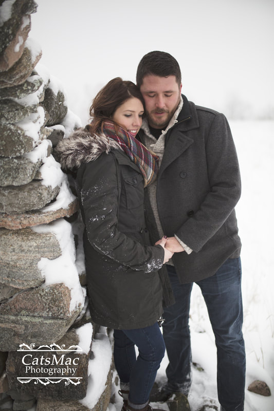 Mount Pleasant Stone Arch Engagement Session