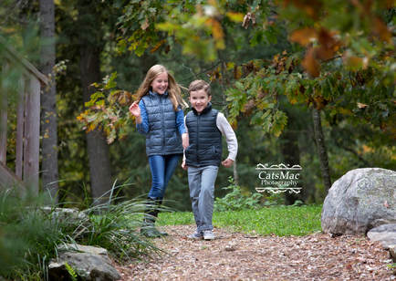 Fall photo session kids