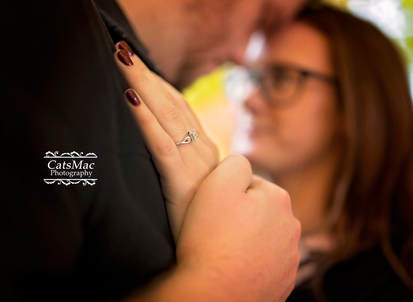 Engagement ring photo