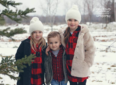 Christmas Tree photo session Peterborough