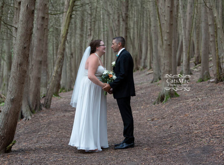 Wedding Ken Reid enchanted forest